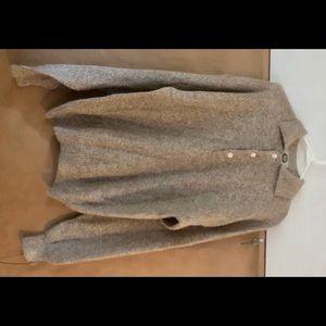 Harbour Club Tan Alpaca Men's Sweater Large